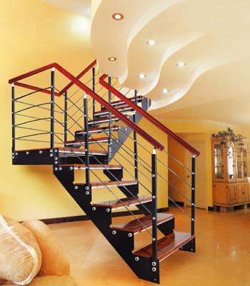 ahşap üst tutamaklı merdiven korkuluk